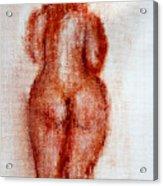 Fat Nude Woman  Acrylic Print