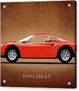 Ferrari Dino 246 Gt Acrylic Print