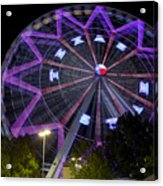 Ferris Wheel At The Texas State Fair In Dallas Tx Acrylic Print