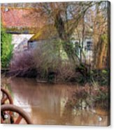Fiddleford Mill - England Acrylic Print