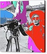 Film Homage Andy Warhol Lonesome Cowboys Old Tucson Arizona 1968-2013 Acrylic Print