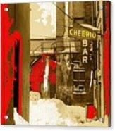 Film Noir William H. Macy Steve Buscemi Fargo 1996 Cheerio Bar Aberdeen South Dakota 1965-2008 Acrylic Print