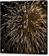 Firework Colors Acrylic Print