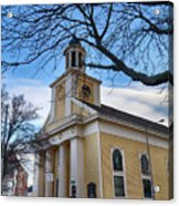 First Parish Church Beverly Ma Acrylic Print