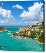 Fisherman Town Of Portovenere, Liguria, Italy Acrylic Print