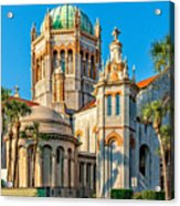 Flagler Memorial Presbyterian Church 3 Acrylic Print