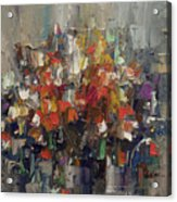 Floral Abstract Acrylic Print