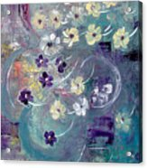 Flowers And Dreams 5 Acrylic Print