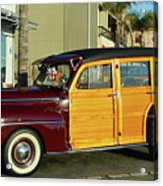 Ford California Woody Station Wagon Acrylic Print