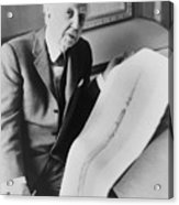 Frank Lloyd Wright 1867-1959, American Acrylic Print by Everett