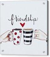 Friendship Acrylic Print