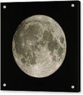 Full Moon Acrylic Print by Eckhard Slawik