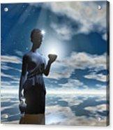 Gaia Acrylic Print