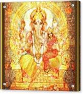 Ganesha Ganapati - Success Acrylic Print