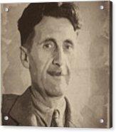 George Orwell 2 Acrylic Print