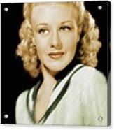 Ginger Rogers, Legend Acrylic Print