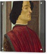 Giuliano De' Medici Acrylic Print