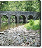 Glass Mill Bridge Acrylic Print