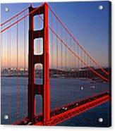 Golden Gate Bridge San Francisco Ca Acrylic Print