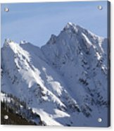 Gore Mountain Range Colorado Acrylic Print by Brendan Reals