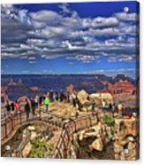 Grand Canyon #  4 - Mather Point Overlook Acrylic Print