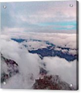 Grand Canyon Above The Clouds Acrylic Print