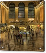 Grand Central Station Acrylic Print