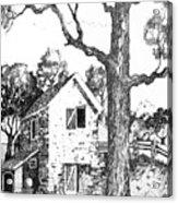 Grandpas Barn Acrylic Print