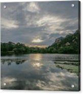 Granite Basin Lake Sunset Acrylic Print