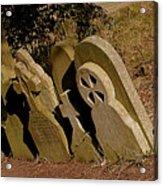 Grave Stones Acrylic Print