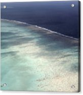 Great Barrier Reef In Australia Acrylic Print