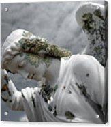 Grieving Angel Acrylic Print