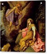 Hagar And The Angel Acrylic Print