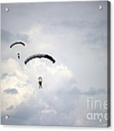Halo Jumpers Descend To The Ground Acrylic Print