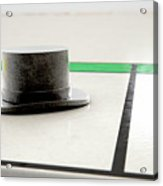 Hat Icon On A Boardgame Acrylic Print