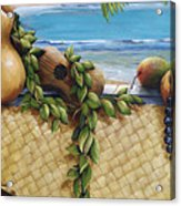Hawaiian Still Life Panel Acrylic Print by Sandra Blazel - Printscapes