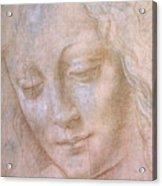 Head Of A Woman  Acrylic Print