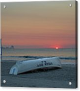 Here Comes The Sun - Ocean City New Jersey Acrylic Print