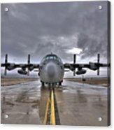 High Dynamic Range Image Of A U.s. Air Acrylic Print