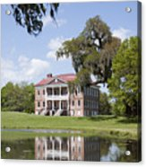 Historic Drayton Hall In Charleston South Carolina Acrylic Print