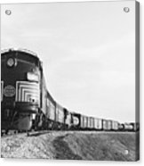Historic Freight Train Acrylic Print