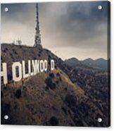 Hollywood Sign Acrylic Print