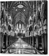 Holy Name Cathedral Acrylic Print