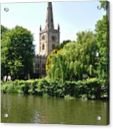 Holy Trinity Church At Stratford-upon-avon Acrylic Print