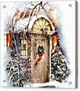 Home For Christmas Acrylic Print