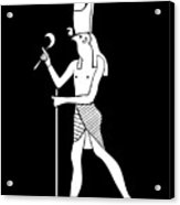 Horus - God Of Ancient Egypt Acrylic Print