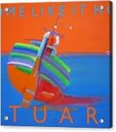 Hot Boat Acrylic Print