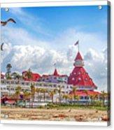 Hotel Del Coronado Acrylic Print