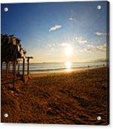 Huequito Beach Acrylic Print