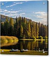 Hume Lake Acrylic Print